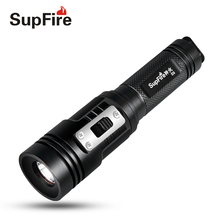 Diving Flashlight Supfire D3 Torch Light Linterna LED for Imalent Nitecore Sofirn Convoy Fenix Olight Nicron Dive Light S007 flashlight led linterna usb flash light supfire c8 s hand light lanterna hiking lamp for sofirn convoy c8 fenix bike light a025