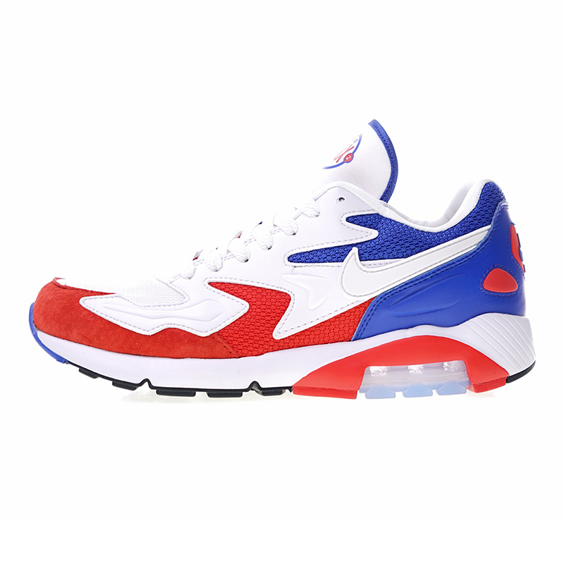 new arrival d599b 08dc9 Nike Air Max 180 OG 2 Mens Running Shoes, BlueRed, Shock Absorption  Breathable Non-slip Wear Resistant 104042 004 104042 603