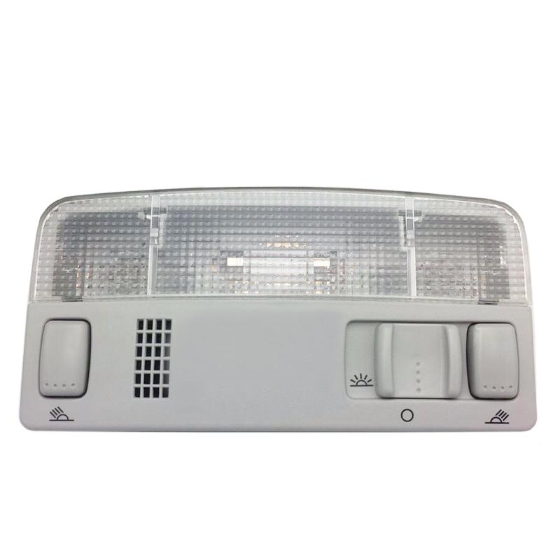 JEAZEA ITD 947 105 1TD947105 Gray Interior Dome Reading Light Lamp for VW Golf Jetta MK4 Bora Passat B5 car lights for vw passat b5 polo touran golf mk4 skoda octavia dome reading light 1td947105 beige or gray color lamp