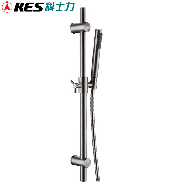 KES F203 2+KP150 2 ALL METAL Single Function Hand Shower Head with ...