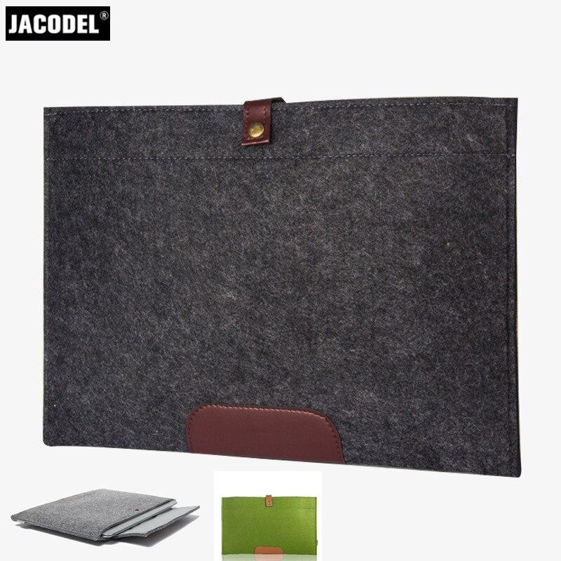 Portable Felt Notebook Bag Liner Sleeve Laptop Tablet Case For Macbook Computer Cover For Apple Mac