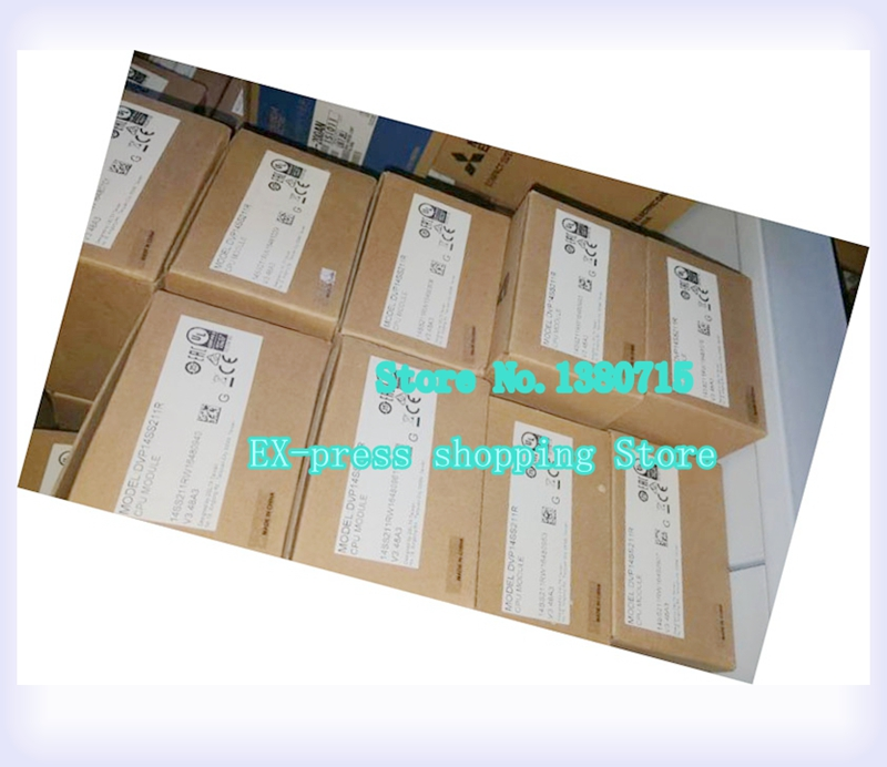 New Original DVP14SS211R PLC SS2 series 24VDC 8DI 6DO Relay output Standard 1 Year Warranty in