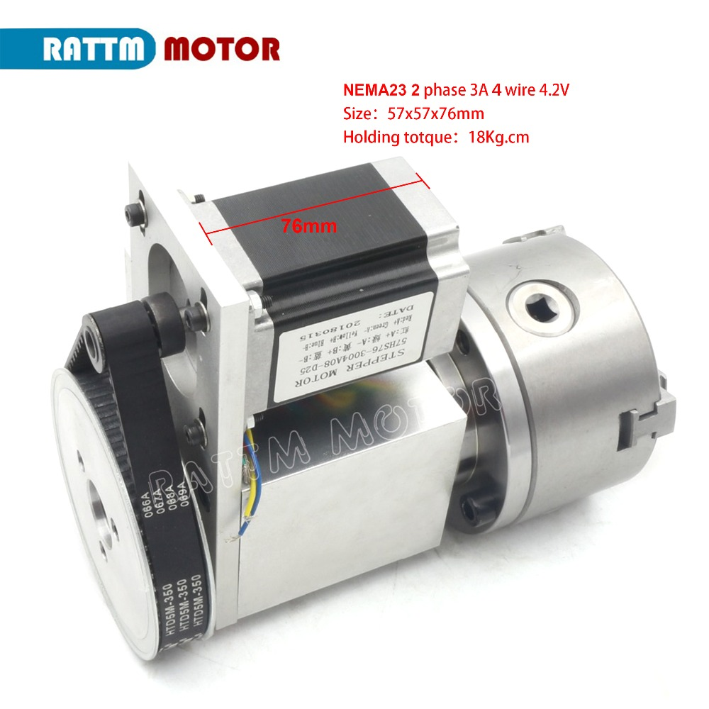 4 jaw chuck 4th Axis K12-100mm CNC dividing head/Rotation Axis & Tailstock for Mini CNC router engraving