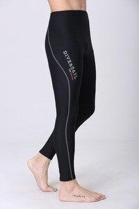 Image 5 - 1.5MM neopren dalış ayak bileği uzunlukta pantolon erkekler kadınlar için dalış Capri pantolon yüzme kürek yelken sörf sıcak