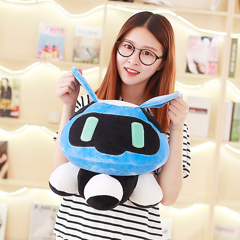 1pc 40cm Overwatches Blizzcon Mei Plush Pillow Dolls Cartoon OW Cosplay Stuffed Plush Toys Cushions Gifts 5
