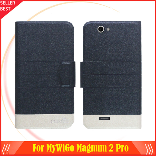 5 Colors Factory Direct MyWiGo Magnum 2 Pro Case Dedicated Flip Fashion Leather Protective