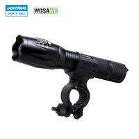 WOSAWE T6 LED Bike Light Waterproof Front Torch Bicycle Cycling Flashlight 1000 Lumens 5 Mode Torch