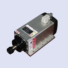 air cooled spindle motor 6kw AC380V ER32 18000rpm flange Spindle motor, wood engraving and milling