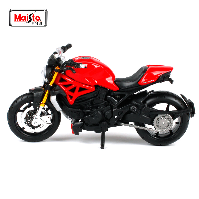 MAISTO 1:18 Ducati 1200S MOTORCYCLE BIKE DIECAST MODEL TOY E RE NE BOX Transporti falas 13095