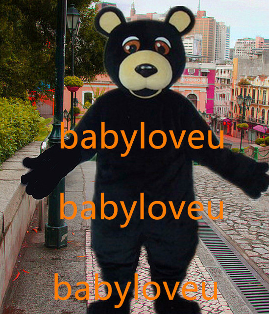 New black bear mascot costume fursuit Festival walkabout costume business custom Character carnival costume & New black bear mascot costume fursuit Festival walkabout costume ...