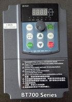 Free Shipping Quality BT700 2T0015GB Vector inverter 1.5KW 0~230V inverter overloaded motor speed machine 7.5A 0~400Hz