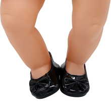 15 Styles Leather Shoes Fit 43cm Baby Born Doll and 18 Inch American Girl Dolls BJD Doll Shoes X-201