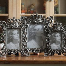Luxury classical fashion vintage photo frame wedding gifts delicate soft resin