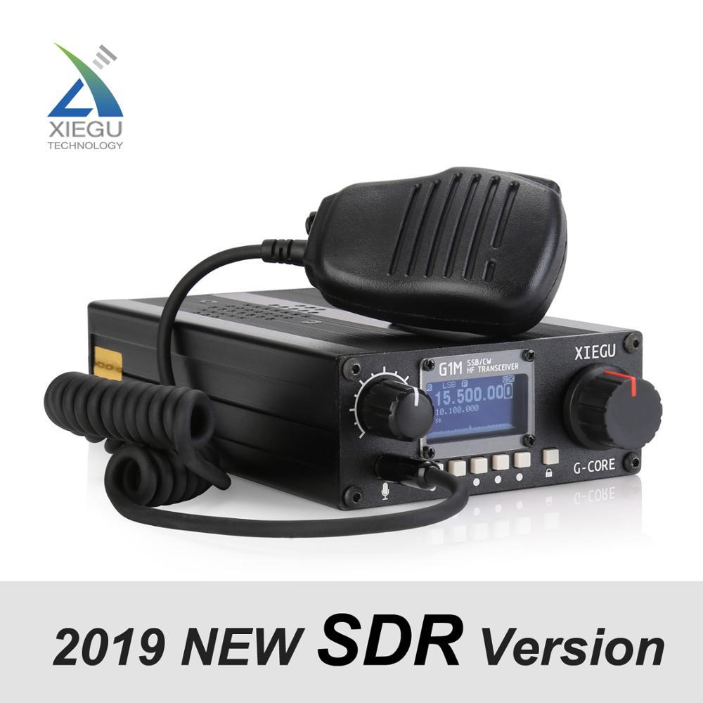 XIEGU G1M HF Quad Band Portable SDR Transceiver QRP Short-Wave 5W SSB CW AW  0 5-30MHz Mobile Radio Amateur Ham