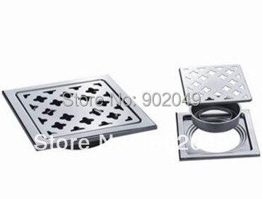 "KL-82(5"") Stainless Steel Floor Drains Custom Made Item Bathroom Accessory"