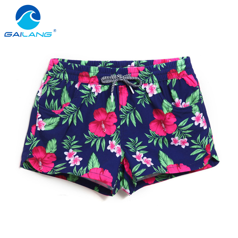 Gailang merk dames shorts board boxershort shorts dames badmode zwemkleding boardshorts casual sneldrogende shorts gay