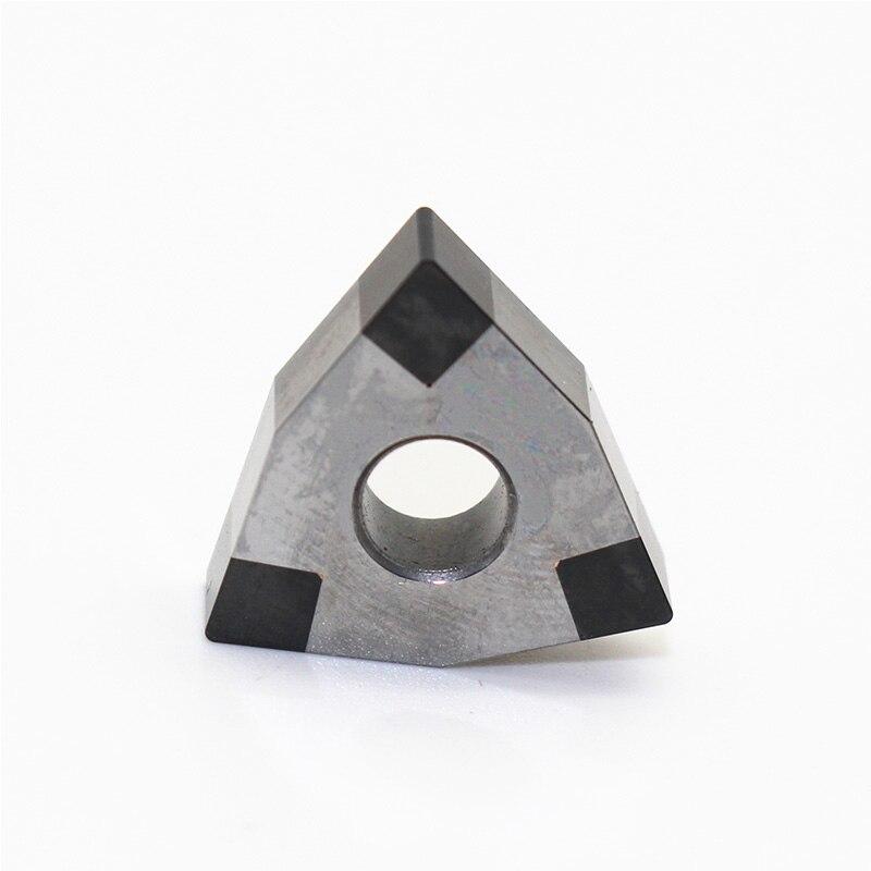 Купить с кэшбэком 1PC WNMG080404 3T CBN WNMG080404 Turning Insert Lathe Knife Blade Indexable External Turning Tool for CNC Machine