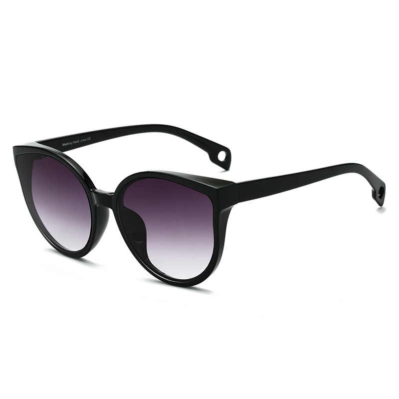 71ca59a0d ... LongKeeper Sexy Cat Eye Sunglasses Women Brand Designer Mirror Sun  Glasses Luxury Oversized Shades for Female ...