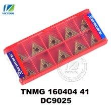 Duracarb TNMG160404 -41 DC9025 for semi-finishing finishing P15 ~ P35 steel tungsten carbide turning insert CNC tool TNMG 160404
