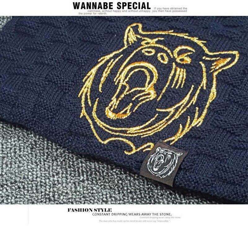 Beanie Knit Hat Men Ерлерге арналған Қысқы - Киімге арналған аксессуарлар - фото 6