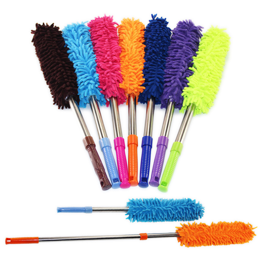 Household Cleaning Tools Scalable chenille duster Mop Duster dusting brush cleaning dust feather duster car to brush dust