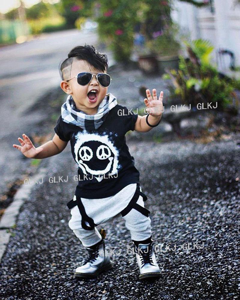 d8a4c52a69d2 2pcs Newborn Toddler Infant Kids Baby Boy Clothes Summer Sets Cute ...