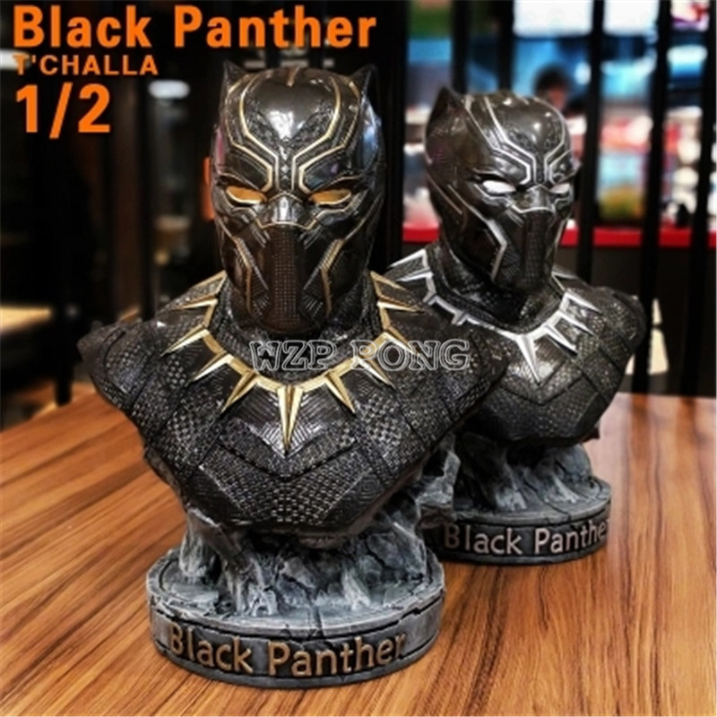 2 Colour 1/2 Resin Bust Black Panther Model Avengers 3 Captain America Civil War Collection Statue Black Panther Action Figure2 Colour 1/2 Resin Bust Black Panther Model Avengers 3 Captain America Civil War Collection Statue Black Panther Action Figure