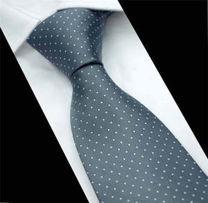 SCST Brand Cravate 2019 New Corbatas Wedding Necktie 8cm Slim Neckties White Dot Print