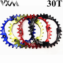 Bicycle Crank 104BCD MTB bike 30T Chainwheel Aluminum Alloy Narrow Wide Chain ring Round Cycle Crankset parts