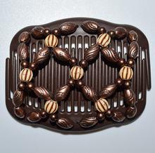 1 шт/лот Королевский узор коричневые классические бусины кофейный