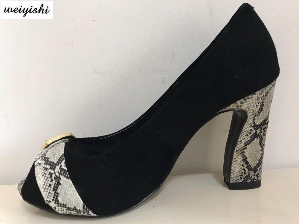 2018 women new fashion shoes lady shoes weiyishi brand 042
