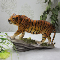 Tiger furnishings decoration home town house evil spirits to attract wealth evil spirit gathe craft statues Home decoration dies