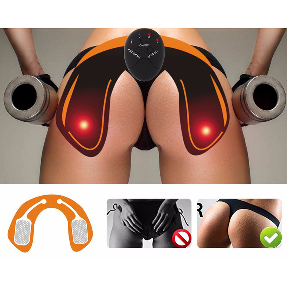 Cuerpo que adelgaza la talladora caderas máquina Abdominal Fitness accesorios ccsme eléctrico inalámbrico estimulador muscular masajeador