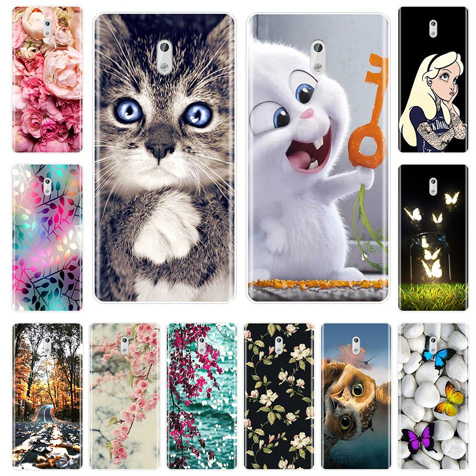 Fashion Patterned Phone Cases For Nokia 1 <font><b>2</b></font> <font><b>3</b></font> 5 6 8 Soft Silicone Cover For Nokia6 Nokia5 Nokia3 Nokia2 Nokia 7 Plus X6 Case image