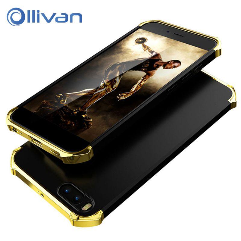 OLLIVAN For xiaomi mi5x Case MI A1 Luxury Plating Anti-Knock Plastic Matte Cases Protective For xiaomi mi 5x A1 Case Back Coque