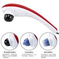 Handheld Electric Cervical Vertebra Electronic Massager Full Body Vibrate Massage Head Stress Release Dolphin Massageador