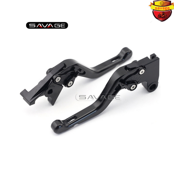 ФОТО For Triumph Tiger 800/XC/XCX/XR/XRX THRUXTON 2015-2016-2017 Motorcycle CNC Aluminum Short Adjustable Brake Clutch Levers Black