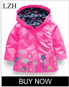 d6d7497dd LZH Children Clothes 2017 Girls Winter Coat Jacket For Girls Floral ...