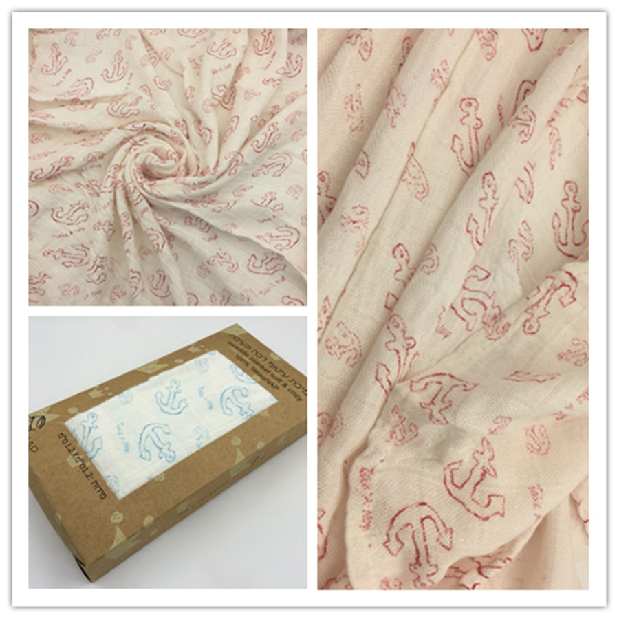 120*120cm Swaddleme Muslin Cotton Baby Swaddle For Baby Blanket,Two Layers Thicken Newborn Swaddling Baby Swaddle Bedding