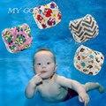 Пеленки младенца Плавать носить Герметичные Многоразовые Регулируемая для новорожденного мальчика девушка малыш для 0-3 лет