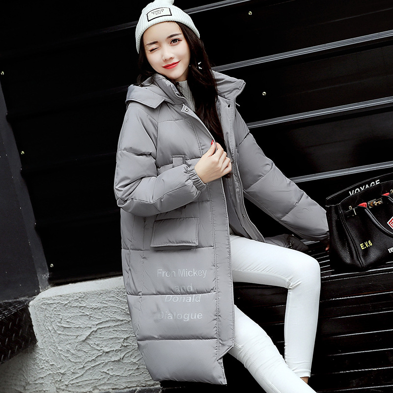 New Winter Jacket Women Wadded Cotton Jacket Coat Hooded Slim Parkas Ladies Parkas Outwear Chaquetas Mujer Manteau Femme MZ1769 short cotton parkas 2017 winter jacket women abrigos mujer stand collar outwear wadded padded jacket parkas winter coat c3396
