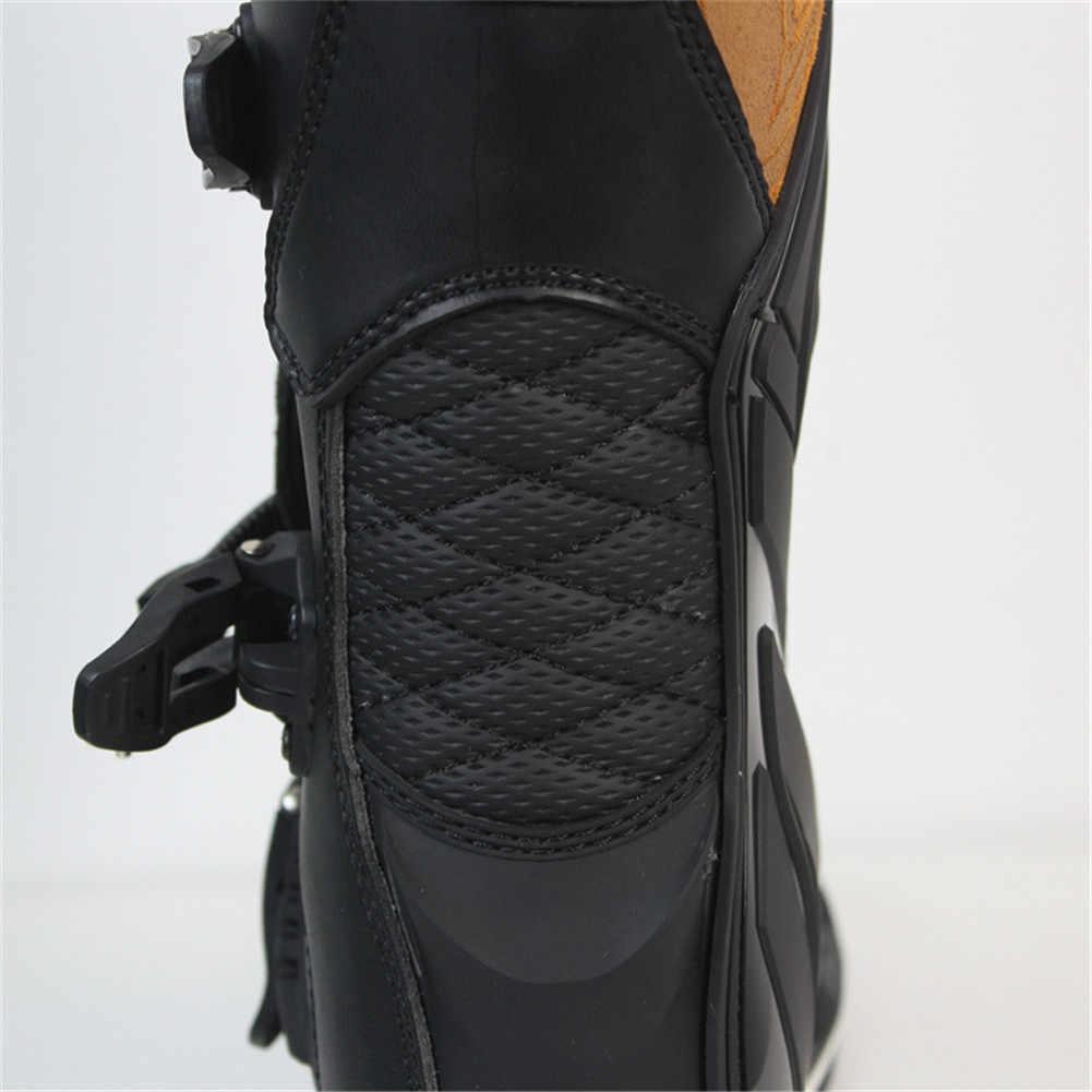 SCOYCO для верховой езды для мотогонок Mx обувь для катеров гонки Botas Мотоцикл Для мужчин Moto крест мотоциклиста по бездорожью спортивные ботинки