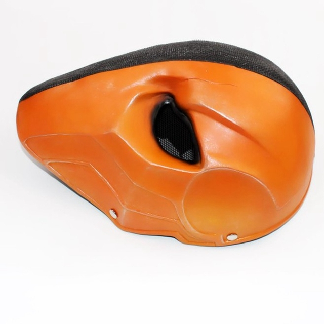 Deathstroke Helmet Halloween Arrow Season Deathstroke Full Face Masquerade Cosplay Costume Props Terminator Resin Helmet Masks 1