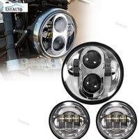 5 75 Inch Headlamp Daymaker LED 4 1 2 4 5 Inch LED Passing Fog Lamps