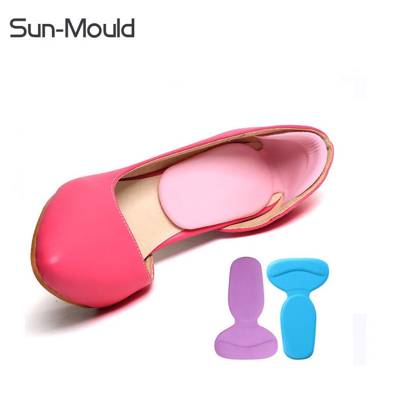 100pairs Soft Insoles Shoes Pads Heels Protector Reduce Pain Foot Care AntiSlip Cushion Pads Shoe Insert DHL free Shipping