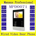 High Quality Smart Home 4.3 inch Touch Screen Video Intercom Phone,Indoor Monitor Video Doorphone DoorBell D71C