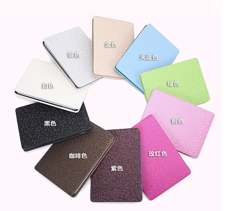 Para Ipad Air 2/3 Luxury Bling Diamond Line Flip Funda de cuero - Accesorios para tablets