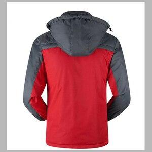 Image 4 - Зимняя уличная умная куртка унисекс с капюшоном и USB зарядкой, теплое пальто с регулируемым температурным контролем, защитная одежда DSY0010
