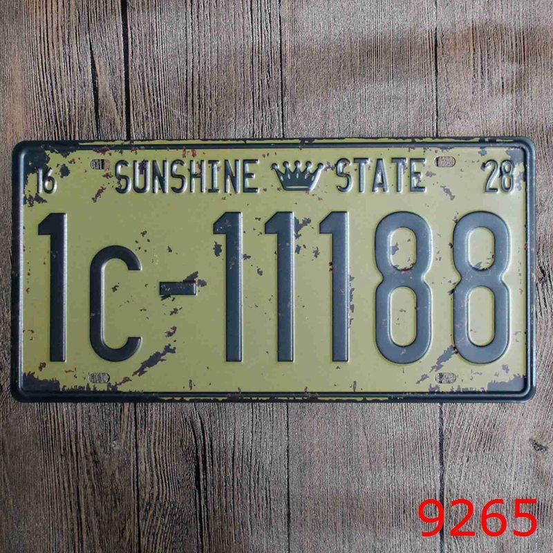 ᗚDecoración de la pared etiqueta 1c. 11188 metal Marcos de ...