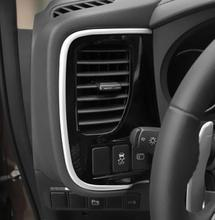 ABS Chrome интимные аксессуары для Mitsubishi Outlander 2015 2016 2017 консоли автомобиля украшения полосы рамки крышка отделка